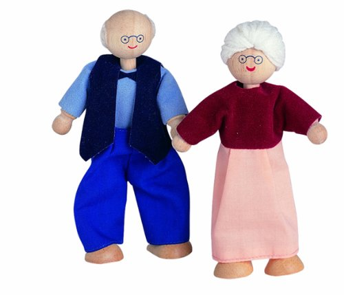 Plan Toys Dollhouse Series Grandfather Doll