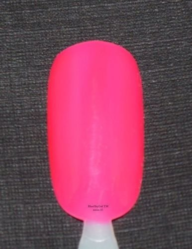 Bluesky Soak Off Uv Led Gel Nail Polish Gorgeous Neon Red Hot 10Ml N12