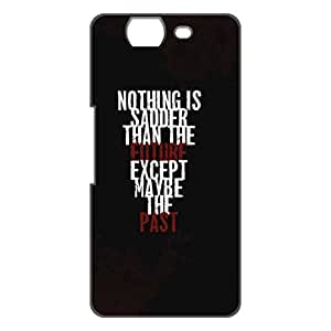 a AND b Designer Printed Mobile Back Cover / Back Case For Micromax Canvas Knight A350 (MIC_A350_3D_2286)