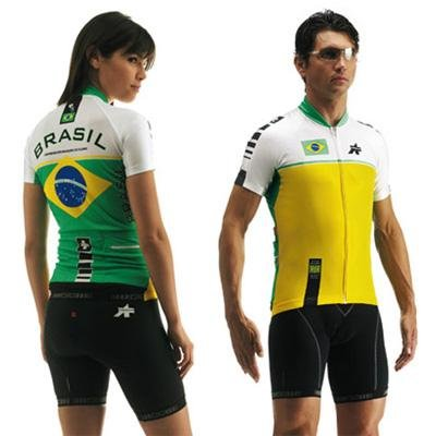 Buy Low Price Assos Men's Brasil Federation National Team Short Sleeve Cycling Jersey – 90.96.103 (B000J5AIQC)