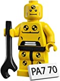 LEGO Collectable Minifigures: Crash Test Dummy Minifigure (Series 1) (Bagged)