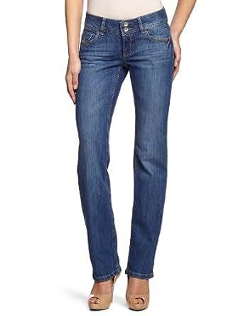 edc by ESPRIT - Jean - Coupe Slim - Femme - Bleu (945 Reg Stone Denim) - W26/L30 (Taille Fabricant :W26/L30)