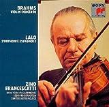 フランチェスカッティ (4) ブラームス:ヴァイオリン協奏曲 / ラロ:スペイン交響曲