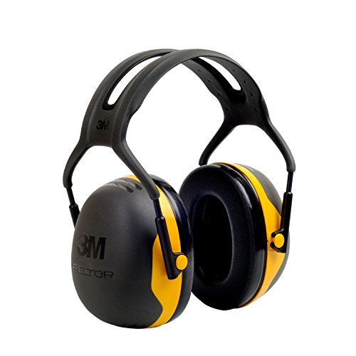 3M Peltor X-Series Over-the-Head Earmuffs, NRR 24 dB, One Size Fits Most, Black/Yellow X2A (Pack of 1) (Ear Muff Protection compare prices)