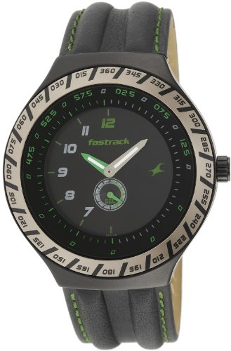 Fastrack-Speed-Racer-Analog-Black-Dial-Mens-Watch-NE3081AL02