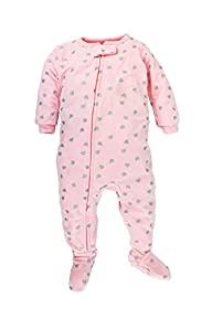 Carter's Baby Girls' One Piece Footed…