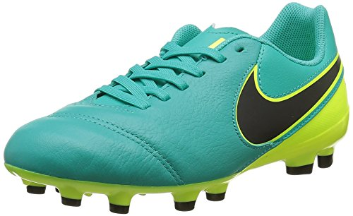 Nike Unisex - Bimbi 0-24 Jr Tiempo Legend Vi Fg scarpe da calcio verde Size: 38.5 EU
