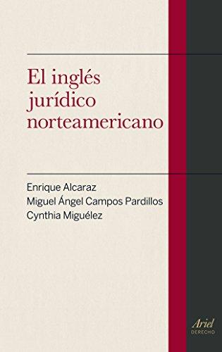 EL INGLES JURIDICO NORTEAMERICANO