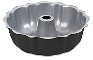3 X Cuisinart AMB-95FCP Chef's Classic Nonstick Bakeware 9-1/2-Inch Fluted Cake Pan