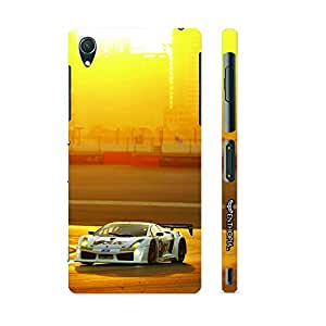 Sony Xperia Z4 Compact Race Until Sundown designer mobile hard shell case by Enthopia