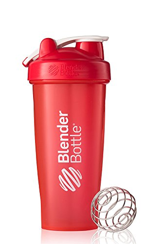 Find Discount BlenderBottle Classic Loop Top Shaker Bottle, Red, 28 Ounce