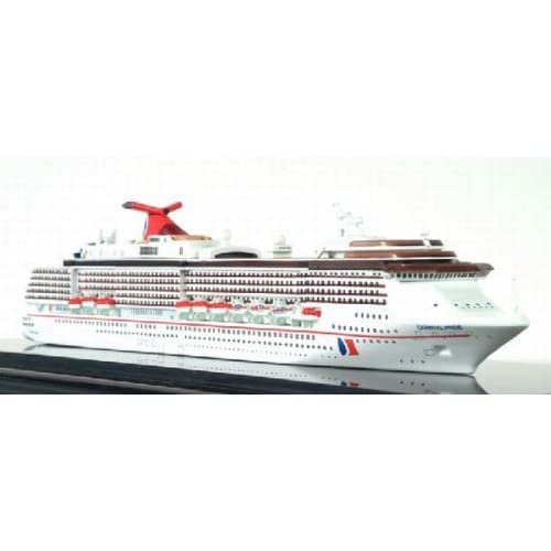 Amazon.com: Dragon Waves Carnival Pride Cruise Ship Model