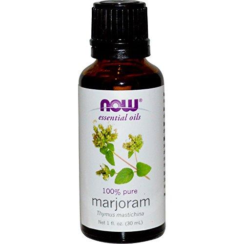 Now Foods, Essential Oils, 100% Pure Marjoram Oil, 1 fl oz (30 ml)(pack of 2)