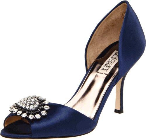 badgley-mischka-lacie-womens-blue-textile-pumps-heels-shoes-new-display-uk-4
