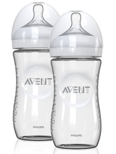 Philips AVENT Natural Glass Bottles, 2 Pack (Discontinued by Manufacturer)