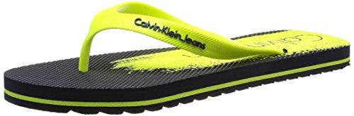 Calvin Klein JeansStewart Jelly - Spiaggia e piscina Uomo , Multicolore (Multicolore (Nyf)), 42
