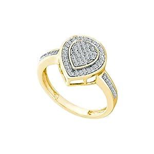 1/5 Carat DIAMOND MICRO PAVE RING