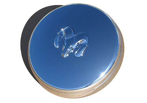 DODGE RAM DUALLY FRONT CHROME HUB CAP WHEEL CENTER OEM (Dodge Ram Wheel Center Cap compare prices)