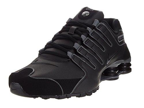 Nike Men's Shox NZ Sl Black/Flint Grey Running Shoe 10.5 Men US