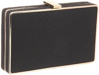 BCBG Thea NOY324EP Clutch,Black,One Size