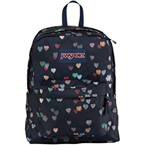 JanSport Superbreak Backpack - Multi Crush - 16.7H x 13W x 8.5D