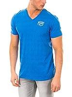 McGregor Camiseta Manga Corta Patrick Palm Vn Tee (Azul Royal)
