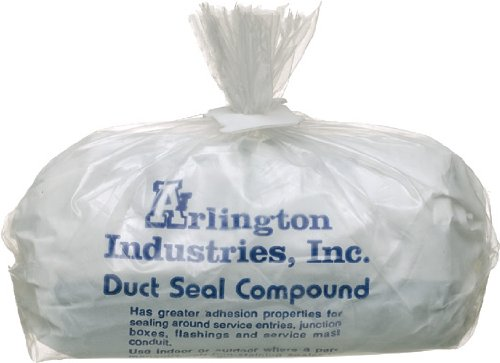 Arlington DSC5  5-Pound Duct Seal Compound, Non-Drying, Non-Toxic, Permanently Soft, 1-Pack