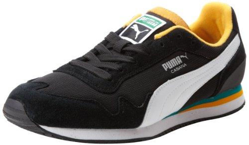 Puma Men'S Cabana Mesh Sport Classic Sneaker,Black/White,11 D Us