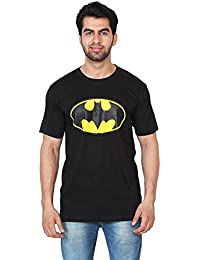Trenders Round Neck Black Color T Shirt With Batman Print