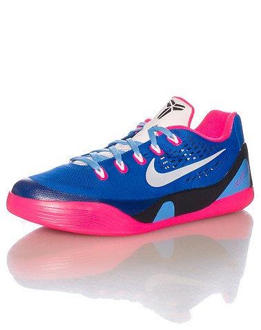 Nike Kid's Kobe IX EM GS, HYPER PINK/WHITE-HYPER COBALT, Youth Size 5 (Kobe Shoes Kids compare prices)