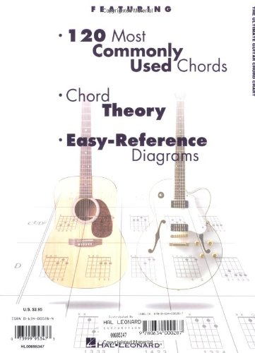 The Ultimate Guitar Chord Chart 073999953473 : ToolFanatic.com