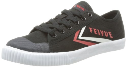 Feiyue  Fe Lo Ii Icy,  Sneaker unisex adulto, Nero (Noir (676 Black/Red/White)), 37