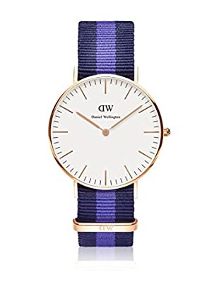 Daniel Wellington Reloj con movimiento cuarzo japonés Woman Classic Swansea blanco/multicolor 36 mm