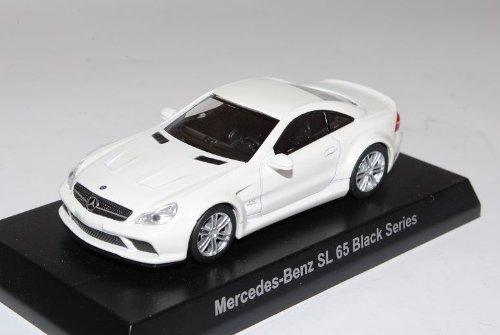 Mercedes-Benz SL65 AMG Black Series Ab 2009 Weiss R230 1/64 Kyosho Sonderangebot Modell Auto