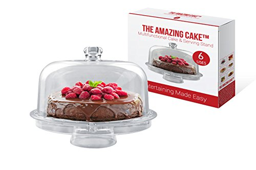 The Amazing Cake Multifunctional Serving and Cake Stand (Covered Cake Boards compare prices)