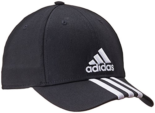 Adidas, Cappellino Performance, Nero (Black/White), 58 cm