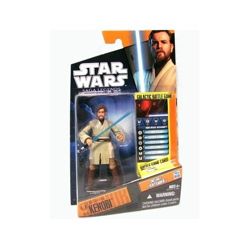 Star Wars: Saga Legends 2012 Obi-Wan Kenobi 3.75 inch AF