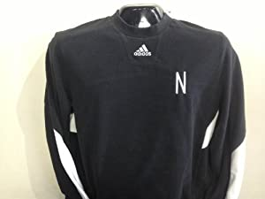 Nebraska Cornhuskers Sideline Crew Performance Sweatshirt Black Unrivaled Edition... by adidas