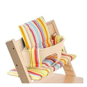 stokke tripp trapp cushion art stripe baby neugeboren kinder kind kleinkind baby. Black Bedroom Furniture Sets. Home Design Ideas