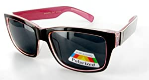 "Ritzy Readers ""Wayfarer Polarized"" Retro Fashion Sunglasses in the Latest Two-Tone Designer Colors! at Sears.com"