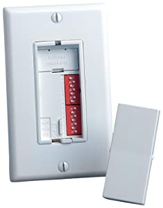 Leviton 6651-W Decora 40W-500W 14 Hour Segment Programmable Electronic Incandescent Only Timer, White