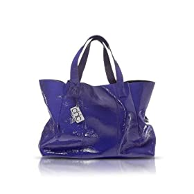 Francesco Biasia Emily - Patent Leather Tote Bag Ribes