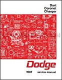 1967 Dodge Charger - Coronet - Dart Factory Shop - Service Manual