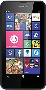 Microsoft Lumia 635 Smartphone débloqué Windows Noir (import Allemagne)
