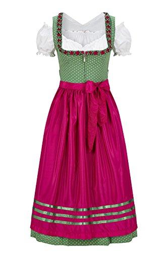 Original Steindl München-Salzburg Dirndl 3/4 lang-3tlg. Damen grün thumbnail