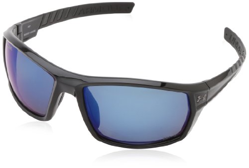 Under Armour Ranger Shiny Black Frame, with Black Rubber and