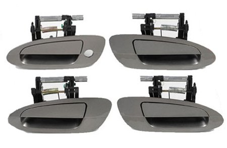Ds114 ky2 pewter brown gold 02 08 nissan altima set 4pcs for 02 nissan altima door handle