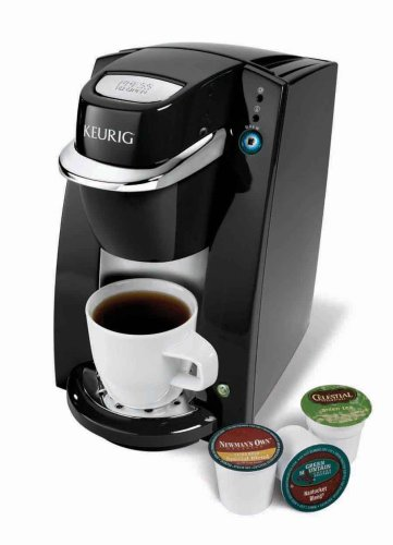 Keurig B35 Mini Brewer Gourmet Single Cup Coffee Maker- Black