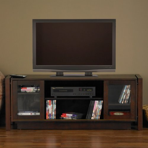 SEI 52-Inch TV and Media Console, Espresso