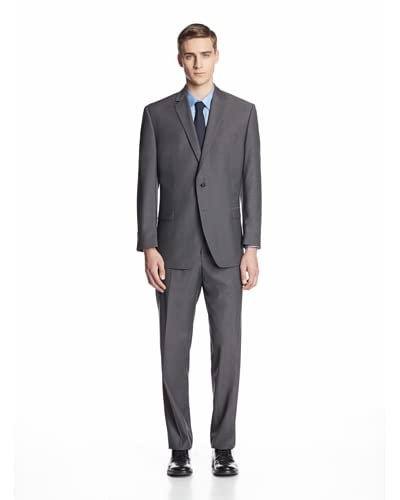 Calvin Klein Men's Malik Striped Two Button Suit